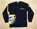 SeaHawaii T-Shirt Long-Sleeve [Crew/Black]