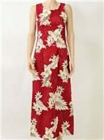 PL 321-3162 Tank Long Dress [Red]