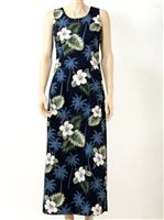 PL 321-2798 Tank Long Dress [Navy]