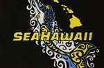 SeaHawaii T-Shirt [Mermaid / Black]
