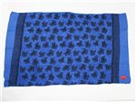 SK T-6-F Hand Print Pareo [Small Turtle / Royal Blue]