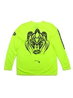 SeaHawaii Windskin Rash Guard [Tattoo Honu/ Fluorescent]