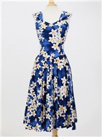 Sundress [Plumeria / Blue]*Advanced Orders Accepted*
