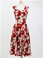 Sundress [Plumeria / Red] *Advanced Orders Accepted*