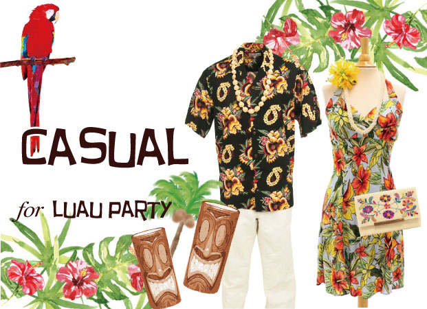 what to wear for luau party
