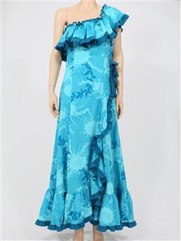 プリンセス カイウラニ 3561 ワンショルダーロングドレス