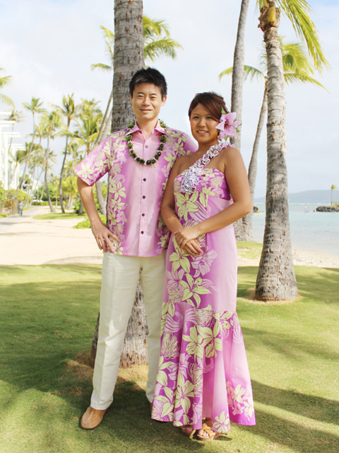 Matching Hawaiian Outfits For Couple