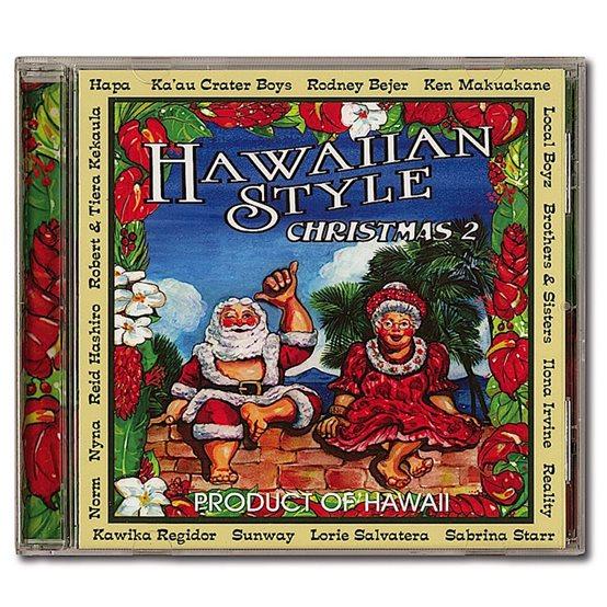 cd hawaiian style christmas 2 - Christmas In Hawaiian