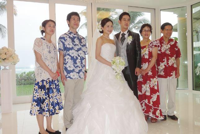 ハワイ結婚式お写真