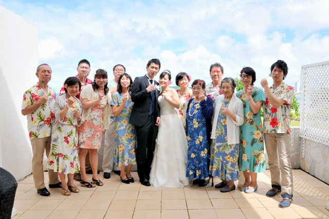 グアム結婚式写真