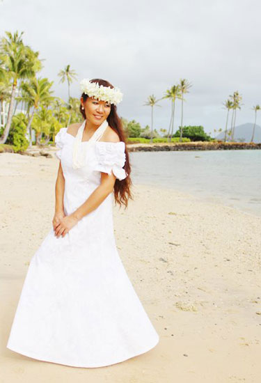Hawaii Beach Wedding Clothing