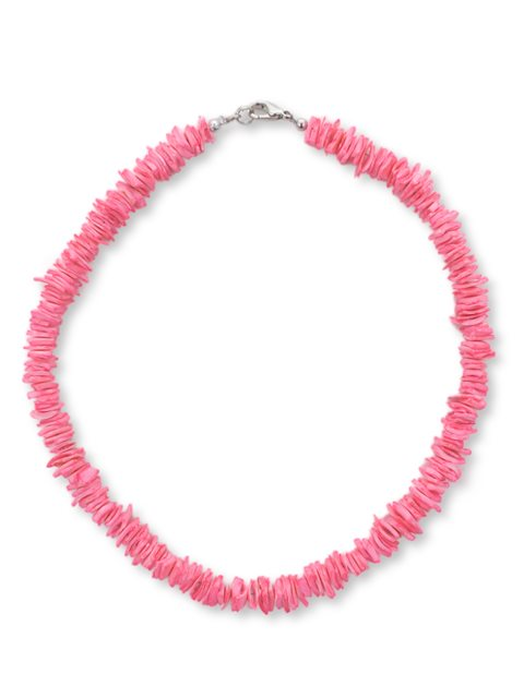 Pink Luanos Chips Necklace