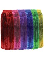 Multiple Colors Cellophane Hula Skirt