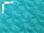 Monstera Teal Poly Cotton LMH-04-331