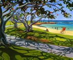 Lynne Domokos-Boyer Magic Island Pathway (Art Print)
