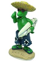 KC Hawaii Shaka Gecko Mini Dashboard Doll