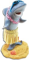 Shark with Sunglasses Miniture Dashboard Hula Doll