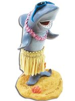 KC Hawaii Shark with Sunglasses Mini Dashboard Doll