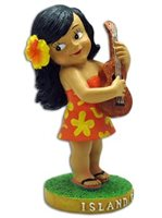 KC Hawaii Keiki Island Girl Mini Dashboard Doll