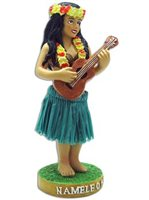 Namele Miniature Dashboard Hula Doll