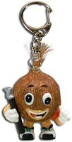 Hiker Nuts About Hawaii Keychains