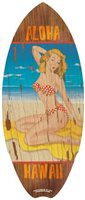 Pin Up Girl Mini Surfboards