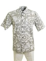 Kahala Duke's Pareo Bark Cotton Men's Hawaiian Shirt