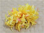 Yellow Large Spider Lily Hair Clip 6""