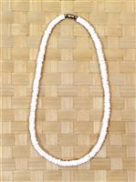 White Puka Shell Necklace Small