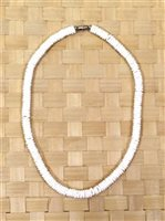 White [Pukalit] Shell Necklace