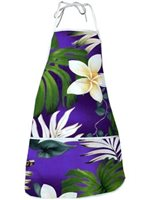 Pacific Legend Purple Hawaiian Apron