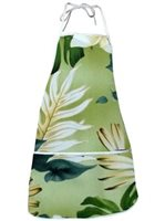 Pacific Legend Sage Hawaiian Apron