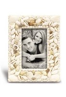 "Island Heritage Seashells Capiz Shell Photo Frame 5"" x 7"""