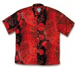Kai Clothing Nautilus Coral Rayon Men's Hawaiian Shirt