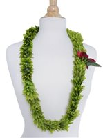 Green Rose Double Lei