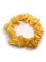 Yellow Kahili Ginger Headband (Haku Lei)