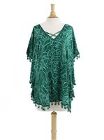 Khush Puzzle Green Dress Colors Tunic