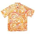 Kai Clothing Pipeline Coral Rayon Men's Hawaiian Shirt