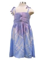 Angels by the Sea Tie Dye Purple Girls Summer Dress
