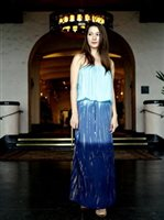 Angels by the Sea Blue Tie Dye Maxi Tube Dress