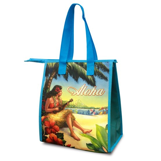 bf6915dd49 Island Heritage Vintage Hawaii Insulated Lunch Tote