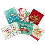 Island Heritage Assorted Pack 9 Value Pack Christmas Card 24 cards