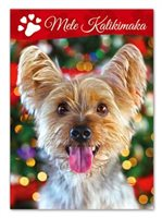 Island Heritage CANINE KALIKIMAKA Boxed Christmas Cards 12pieces set