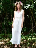 Angels by the Sea White Nahele Long Dress