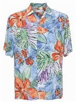 Jams World Surf Flower Men's Hawaiian Shirt