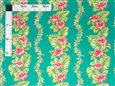 Hibiscus Monstera Lei Jade Poly Cotton YJH-16-187