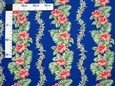 Hibiscus Monstera Lei Navy Poly Cotton YJH-16-187