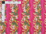 Tiare Ginger Lei Pink Poly Cotton LW-16-506