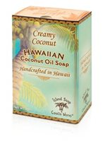 Island Soap & Candle Works Coconut Oil Soap 2 oz. [Creamy Coconut]