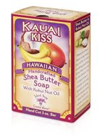 Island Soap & Candle Works Shea Butter Soap 3 oz. [Kauai Kiss]